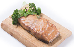 image of smoked mackerel fillet